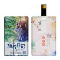 胜士顿 U盘  USB2.0 K001 企业招投标卡片式 个人照片 集体合影 活动留影定制礼品U盘 毕业留念 8GB