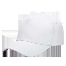 鹿同学 帽子定制 志愿者帽子 印logo刺绣印字 气孔帽 广告帽棒球帽鸭舌帽 1013双层气孔帽白色