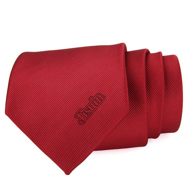 定制领带LOGO 定做企业领带图案 男女士领带正装商务拉链手打款懒人领带 定制专拍