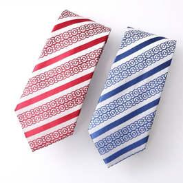 特洛曼中行银行领带 中国银行领带 职业工装企业定制刺绣logo领带定做 颜色可选择 单条装