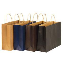 牛皮纸袋手提袋定制奶茶餐饮店食品包装袋子外卖打包袋定做印logo
