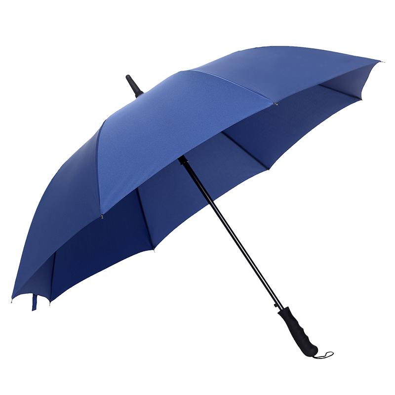 雨伞定制可印logo广告伞酒店订制长柄伞印字大号男士潮批发黑色伞
